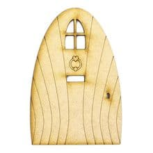 XL Fairy Door Design T 200x133cm - Wooden Laser Cut Shapes, Craft Blanks 3mm MDF