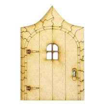 XL Fairy Door Design X 200x133cm - Wooden Laser Cut Shapes, Craft Blanks 3mm MDF