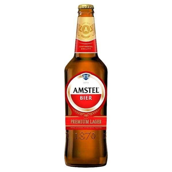 Amstel Lager Beer 650ml Bottle