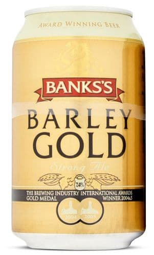 Banks's Barley Gold Strong Ale 330ml