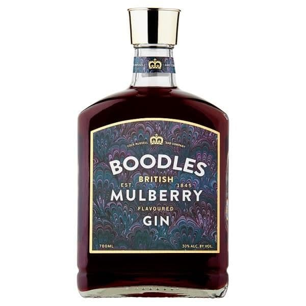 Boodles British Mulberry Flavoured Gin 70cl