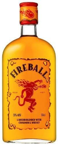 Fireball Liqueur Blended with Cinnamon & Whisky 70cl