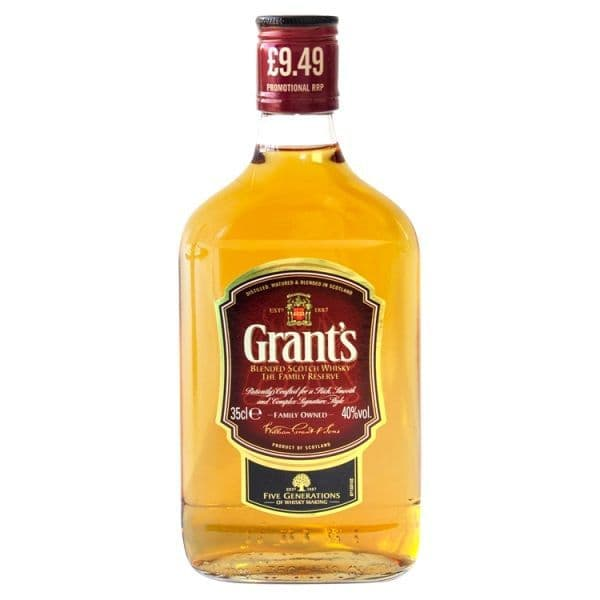 Grant's Triple Wood Blended Scotch Whisky 35cl