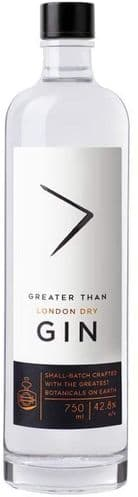 Greater Than London Dry Gin 70cl