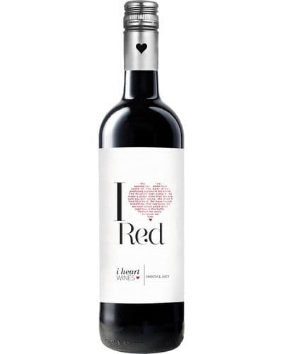 I Heart Red 75cl