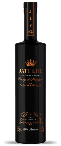 Jatt Flavoured Orange & Pineapple 70cl