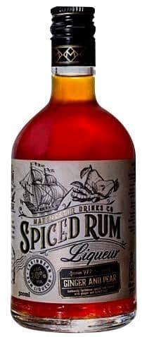 Manchester Ginger And Pear Spiced Rum 50cl