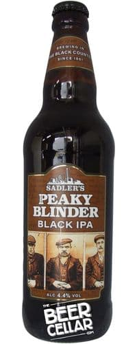 Sadler's Peaky Blinder Black IPA 500ml