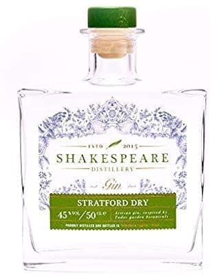 Shakespeare Stratford Dry Gin 50cl