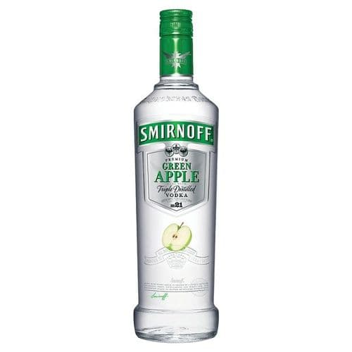 Smirnoff Premium Green Apple Vodka 70cl