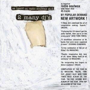 2 Many DJ's <br> As Heard On Radio Soulwax Pt. 2