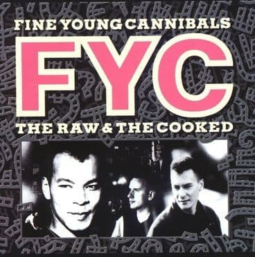 Fine Young Cannibals<br>The Raw and The Cooked (White Vinyl)