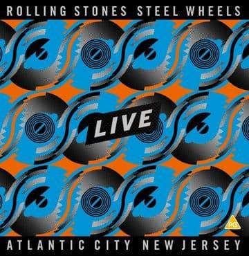 Rolling Stones<br>Steel Wheels Live - Atlantic City (Blue & Orange Vinyl)