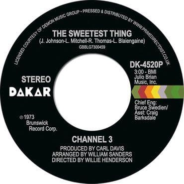 Channel 3<br>The Sweetest Thing / Someone Else's Arms (RSD 2021)