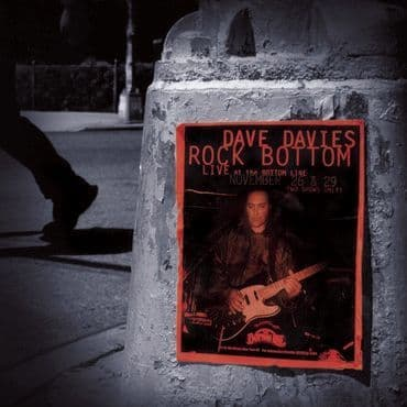 Dave Davies<br>Rock Bottom: Live at The Bottom Line (RSD 2020)