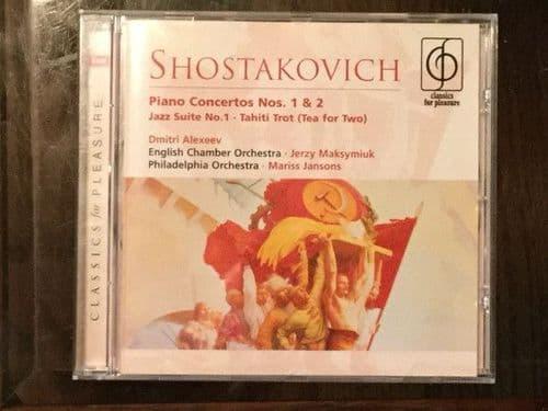 Dmitri Alexeev/ECO MariJansons/PO<br>Shostakovich Piano Concertos 1 & 2 etc.  CD