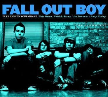Fall Out Boy<br>Take This To Your Grave<br>Ltd Silver Vinyl