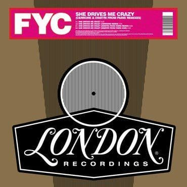 Fine Young Cannibals<br>She Drives Me Crazy (Cerrone and Dimitri From Paris Remixes) (RSD 2021)