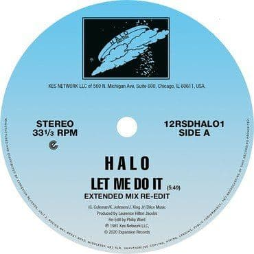 Halo<br>Let Me Do It / Life (RSD 2020)