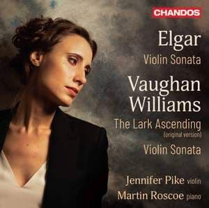 Jennifer Pike/Martin Roscoe<br>Elgar: Violin Sonata/Vaughan Williams: The Lark Ascending CD