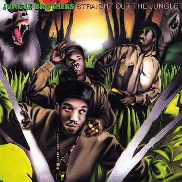 Jungle Brothers<br>Straight Out Of The Jungle / Black Is Black (RSD 2021)