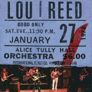 Lou Reed<br>Live at Alice Tully Hall - Jan 27th 1973 (BF 2020)