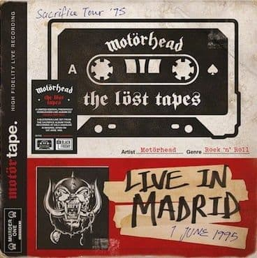 Motorhead<br>The Lost Tapes Vol. 1 - Live In Madrid 1995 (BF 2021)