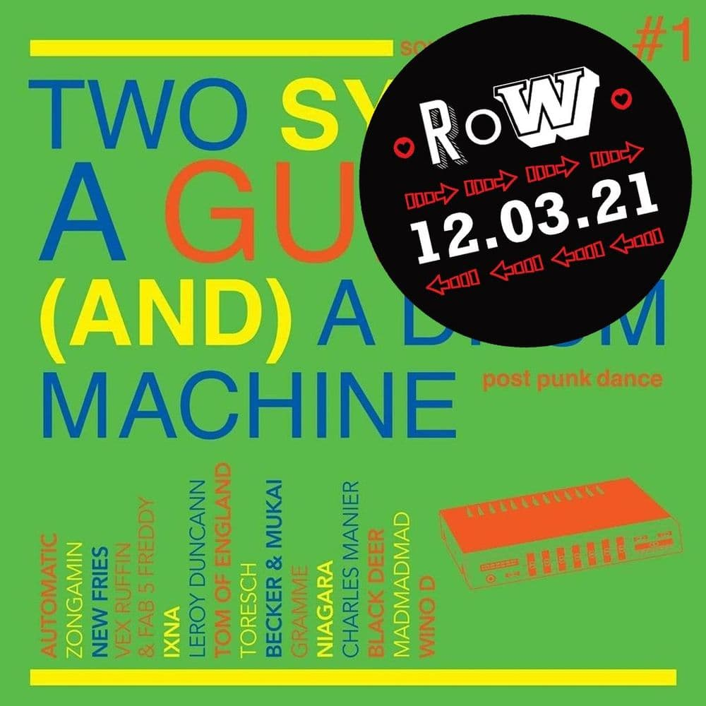 Soul Jazz Presents<br>Two Synths, A Guitar (And) A Drum Machine - Post Punk Dance Vol 1