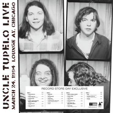 Uncle Tupelo<br>Live At Lounge Ax - March 24, 1994 (BF 2020)