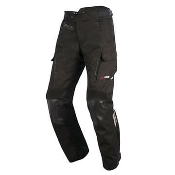 Alpinestars Andes Drystar v2 Waterproof Motorcycle Pants Black