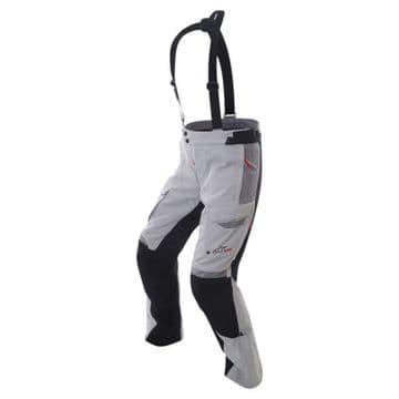 Alpinestars Bogota Drystar Waterproof Motorcycle Pants Grey Black 3XL XXXL