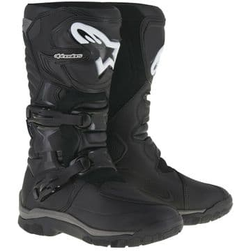 Alpinestars Corozal Adventure Waterproof Motorcycle Motorbike Boots - Black