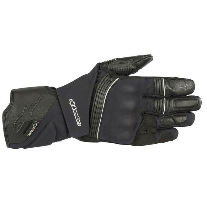 Alpinestars Jet Road v2 Gore-Tex Gore Grip Motorcycle Motorbike Gloves Black