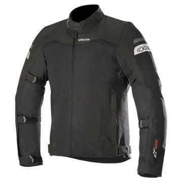 Alpinestars Leonis Air Waterproof Liner Motorcycle Motorbike Jacket - Black
