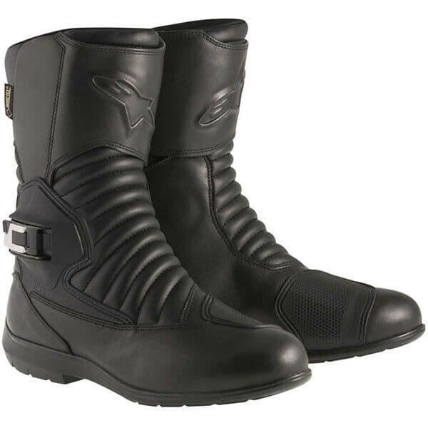 Alpinestars Mono Fuse Waterproof Gore-Tex Motorcycle Motorbike Boots - Black