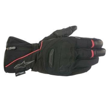 Alpinestars Primer Drystar Waterproof Motorcycle Motorbike Gloves Black & Red