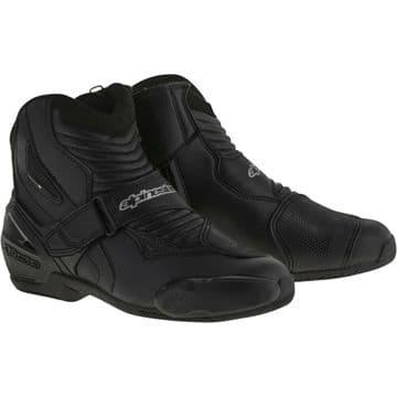 Alpinestars SMX-1 R Motorcycle Motorbike Shoe Boots Black US/UK 5 Euro 38