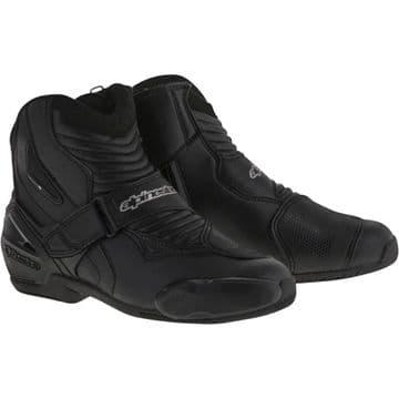 Alpinestars SMX-1 R Motorcycle Shoe Boots Black