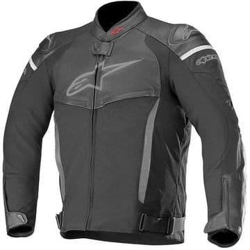 Alpinestars SP X Leather Sports CE Approved Motorcycle Jacket - Black