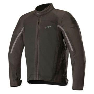 Alpinestars Spartan Waterproof CE Motorcycle Motorbike Touring Jacket Black