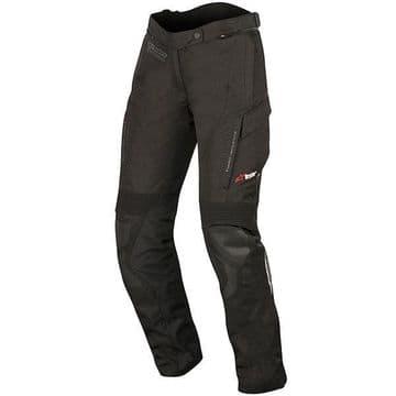 Alpinestars Stella Andes V2 Drystar Waterproof Textile Motorcycle Pants - Black