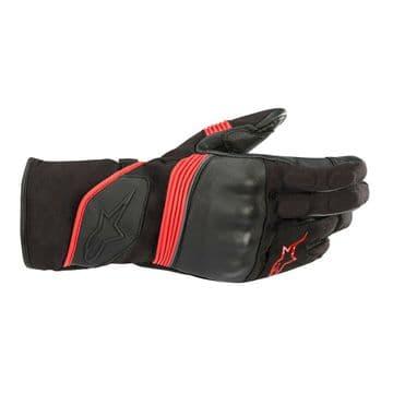 Alpinestars Valparaiso V2 Drystar Waterproof Motorcycle Motorbike Gloves Blk Red
