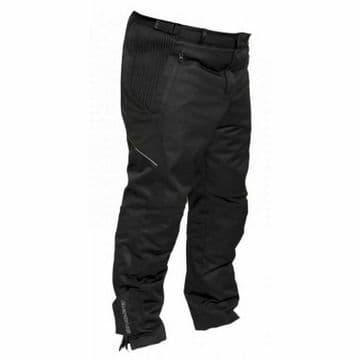 Bering Otto King Size Waterproof Motorcycle Motorbike Textile Trousers Black 3XL
