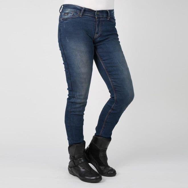 Bull-it Ladies Womens SR6 Vintage 17 Slim Motorcycle Covec Jeans Long