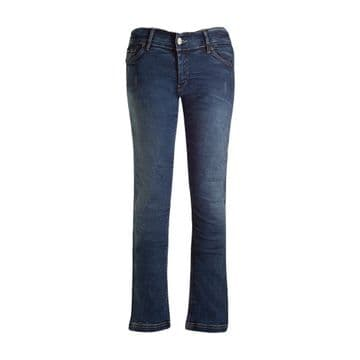 Bull-it Ladies Womens SR6 Vintage 17 Stright Motorcycle Covec Jeans Short