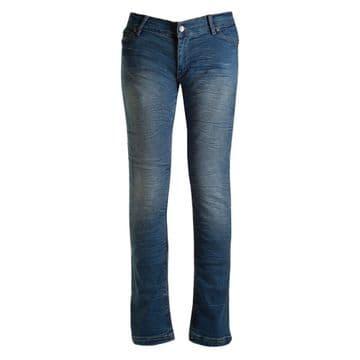 Bull-it Motorcycle Motorbike Jeans Ladies Ocean 17 SR6 Slim Fit Regular Leg