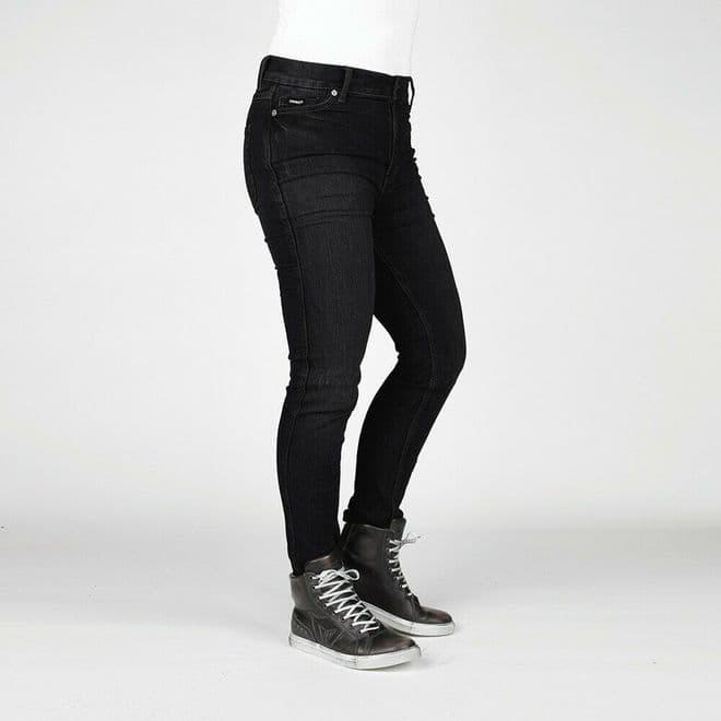Bull-it Women's Tactical SP75 (AA) Stone Black Slim Motorcycle Jeans Regular