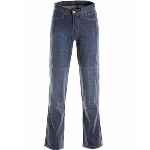 Draggin Traffic Aramid Motorcycle Jeans - Light Blue RRP 159.99