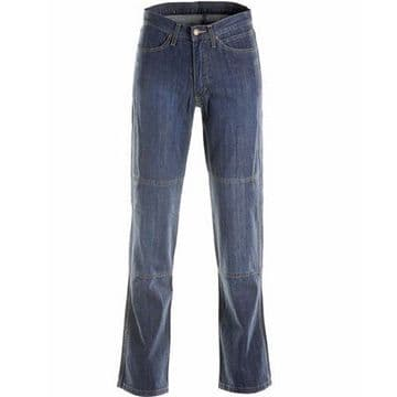 Draggin Traffic Aramid Motorcycle Jeans - Light Blue RRP 159.99