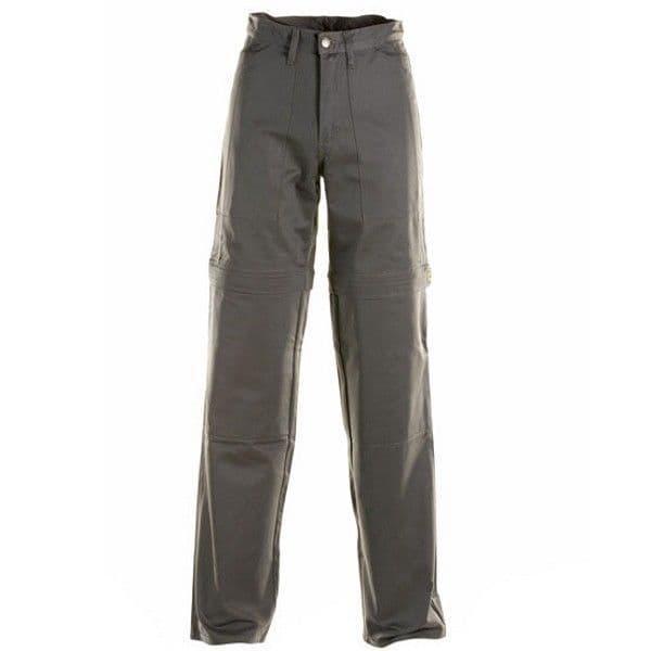 Draggin Zip Off Aramid Motorcycle Jeans - Grey